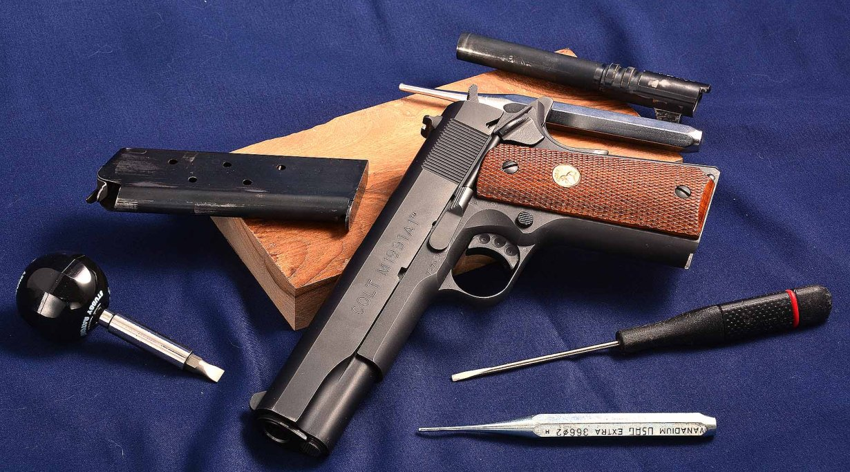 Colt 1911 Government .45 ACP disassembly
