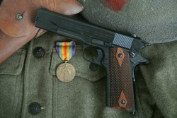 The Colt WW1 replica in .45 ACP