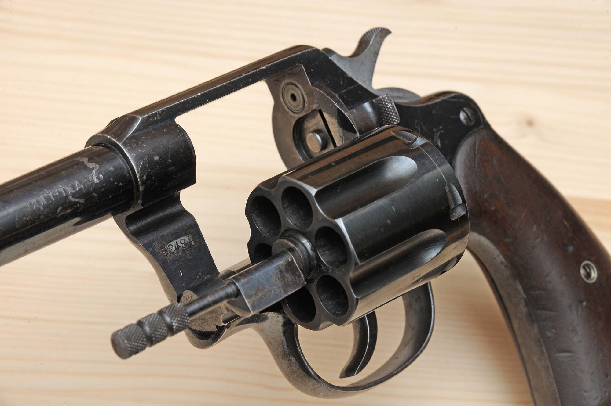 Frame of the Colt New Service 1909 revolver