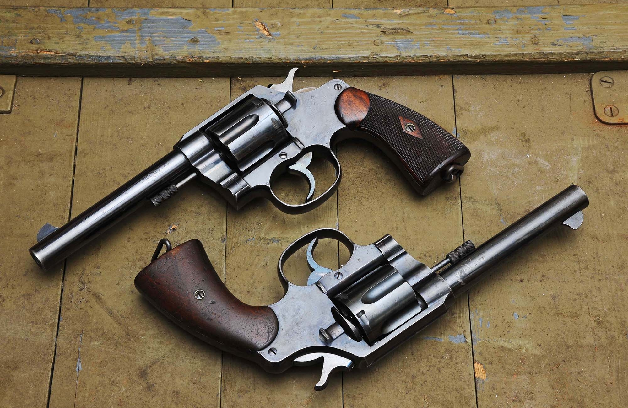 "A pair of Colt New Service ""1909"" revolvers"