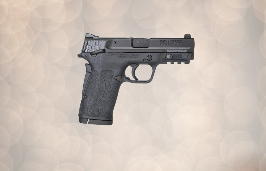 The Smith & Wesson M&P 380 Shield EZ pistol, right side