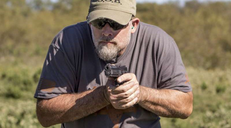 John McPhee reviews the CZ P-09 semi-automatic striker-fired, polymer-frame semi-automatic pistol