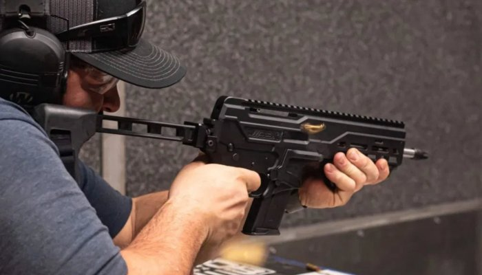 pistols: DBX 5.7 in 5.7x28mm, a gun beyond traditional pistols or carbines