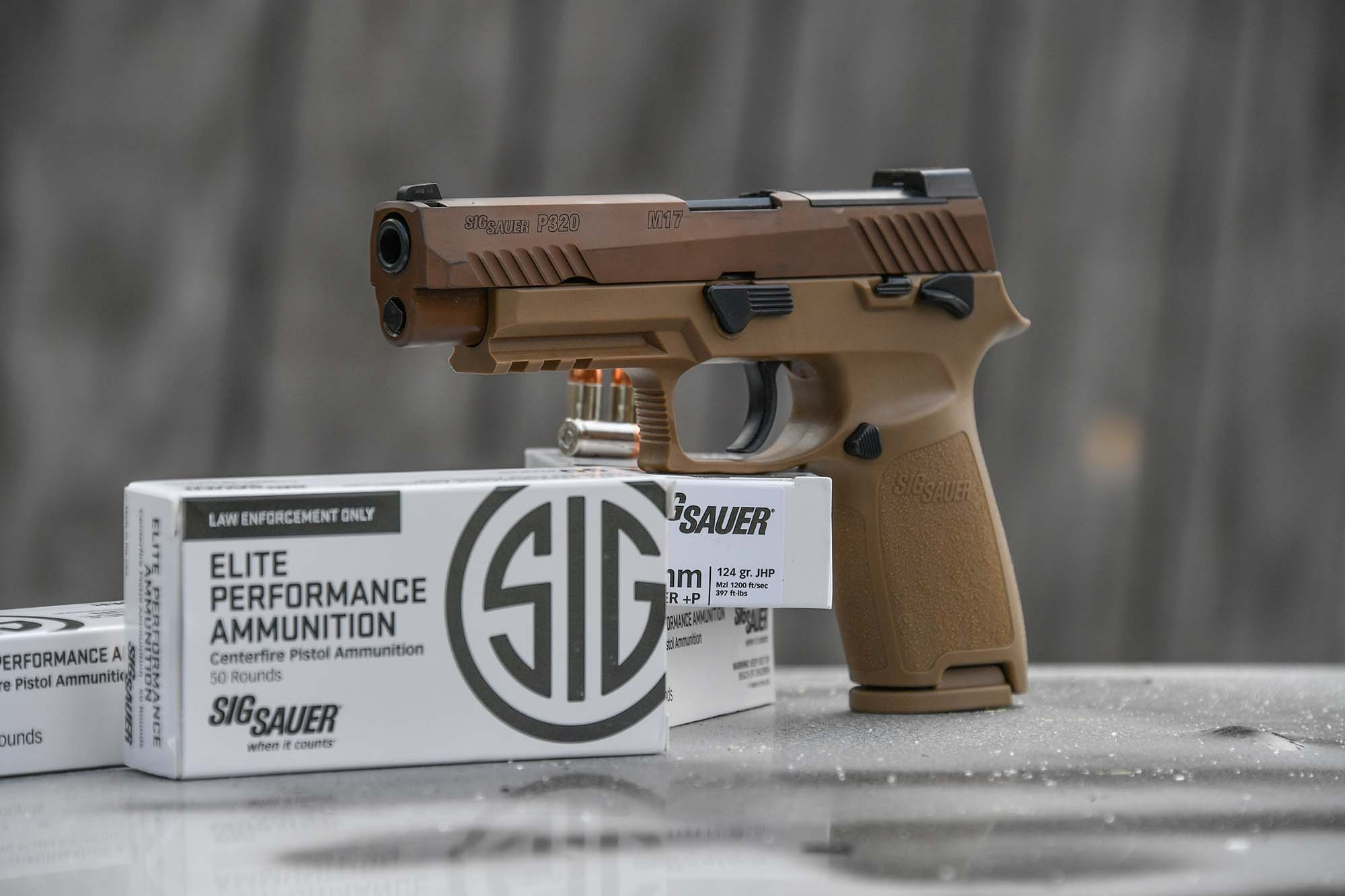 The new SIG Sauer P320-M17