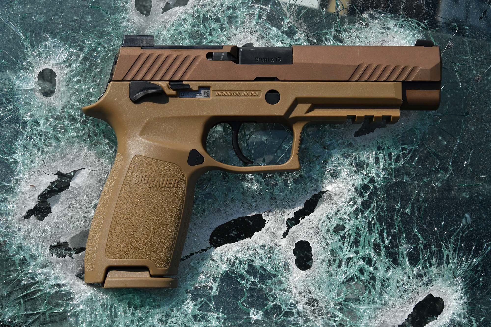The SIG Sauer P320-M17, right side