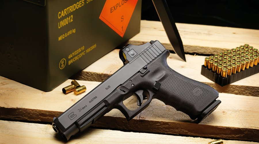 "GLOCK ""Safe Action"" pistols G34 Gen4 in M.O.S. configuration"
