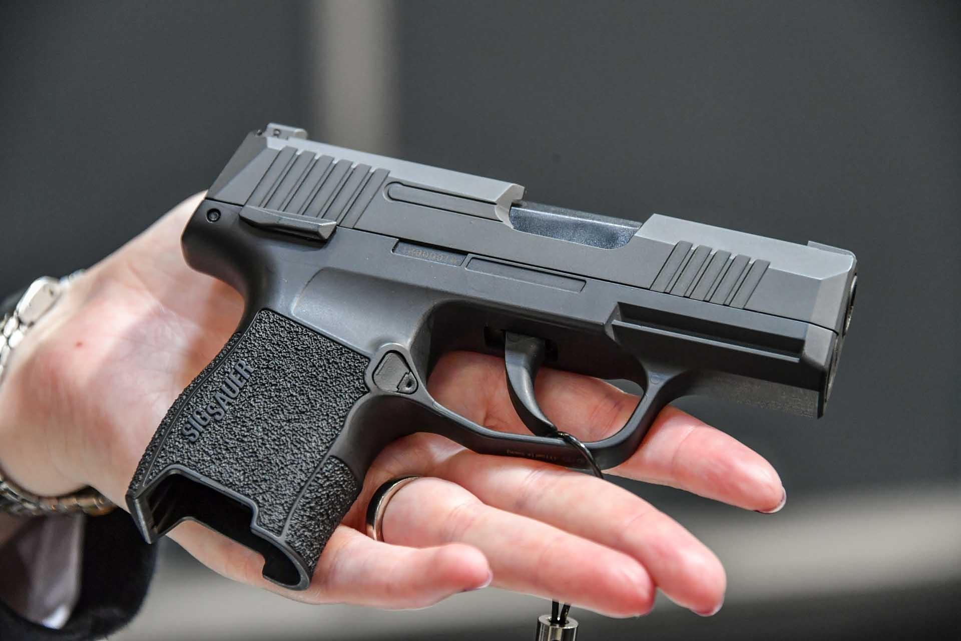 SIG Sauer P365 ASP in right side view