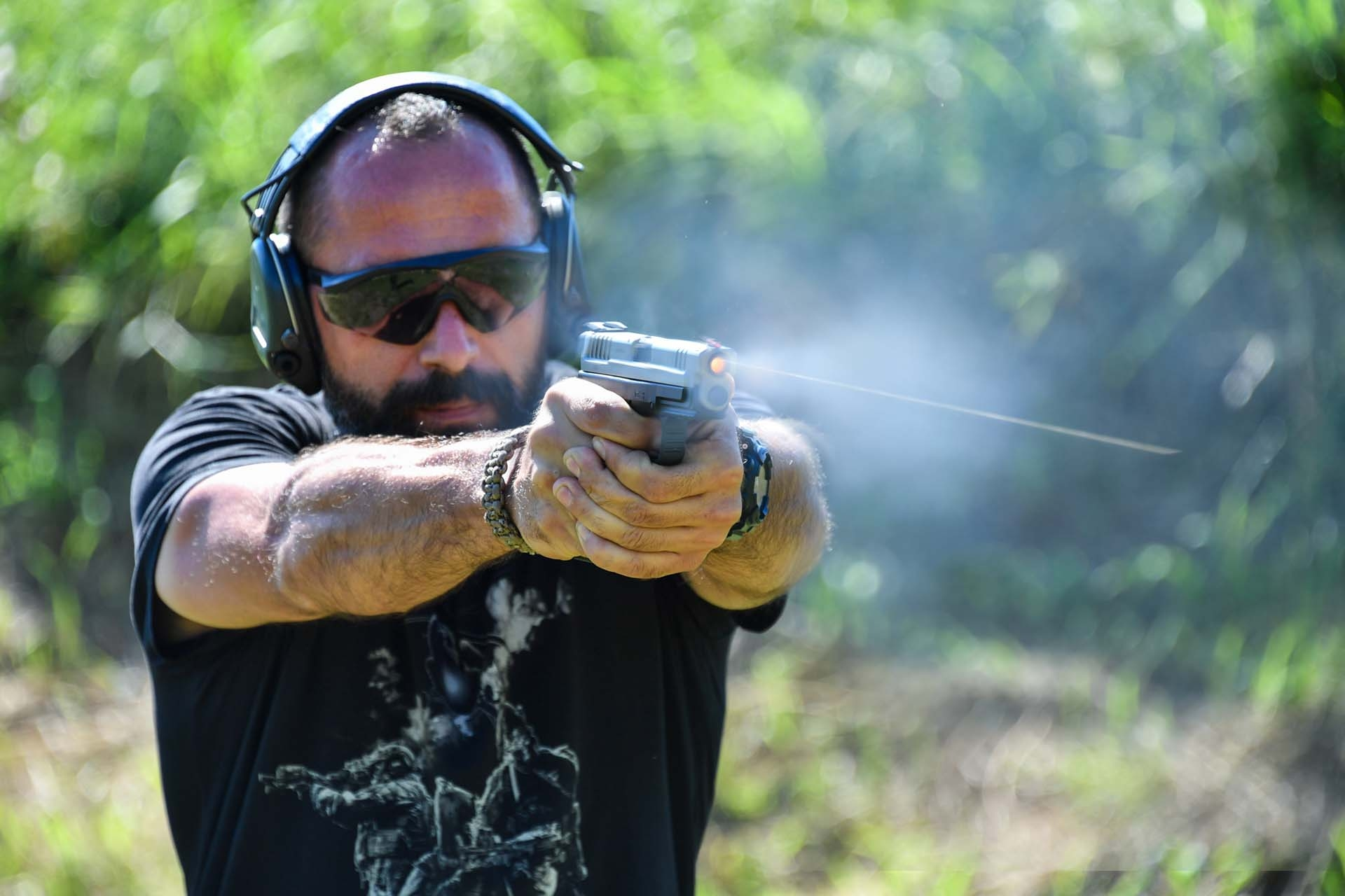 pistols: On the shooting range with HS Produkt guns