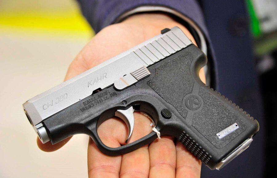 The Diamant S.r.l. company showcased the Kahr Arms CW380 pocket pistol at the 2016 HIT Show