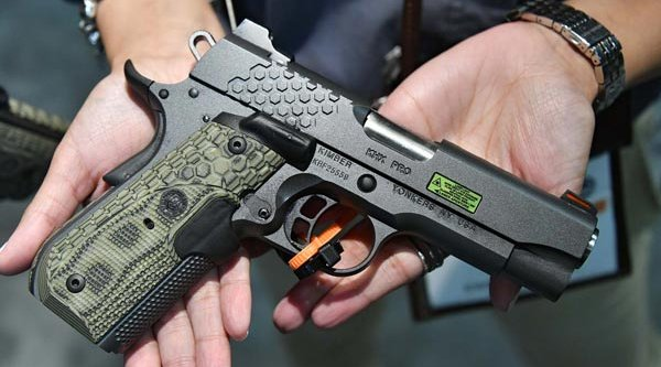 The right side of the Kimber KHX 1911 pistol