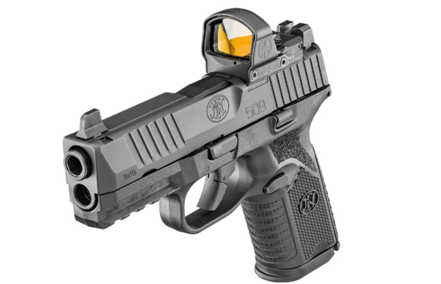 The new FN 509 Midsize MRD with FN's patented optics mounting platform