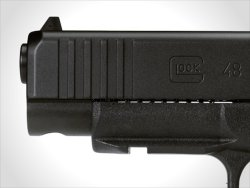 The GLOCK mounting rail added to both the G43X and G48