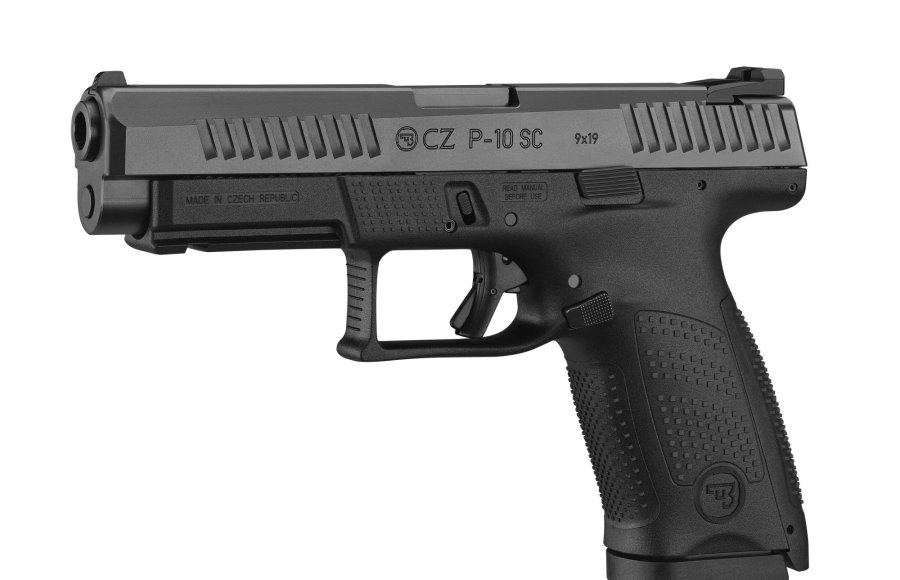 New P-10 pistol models from CZ