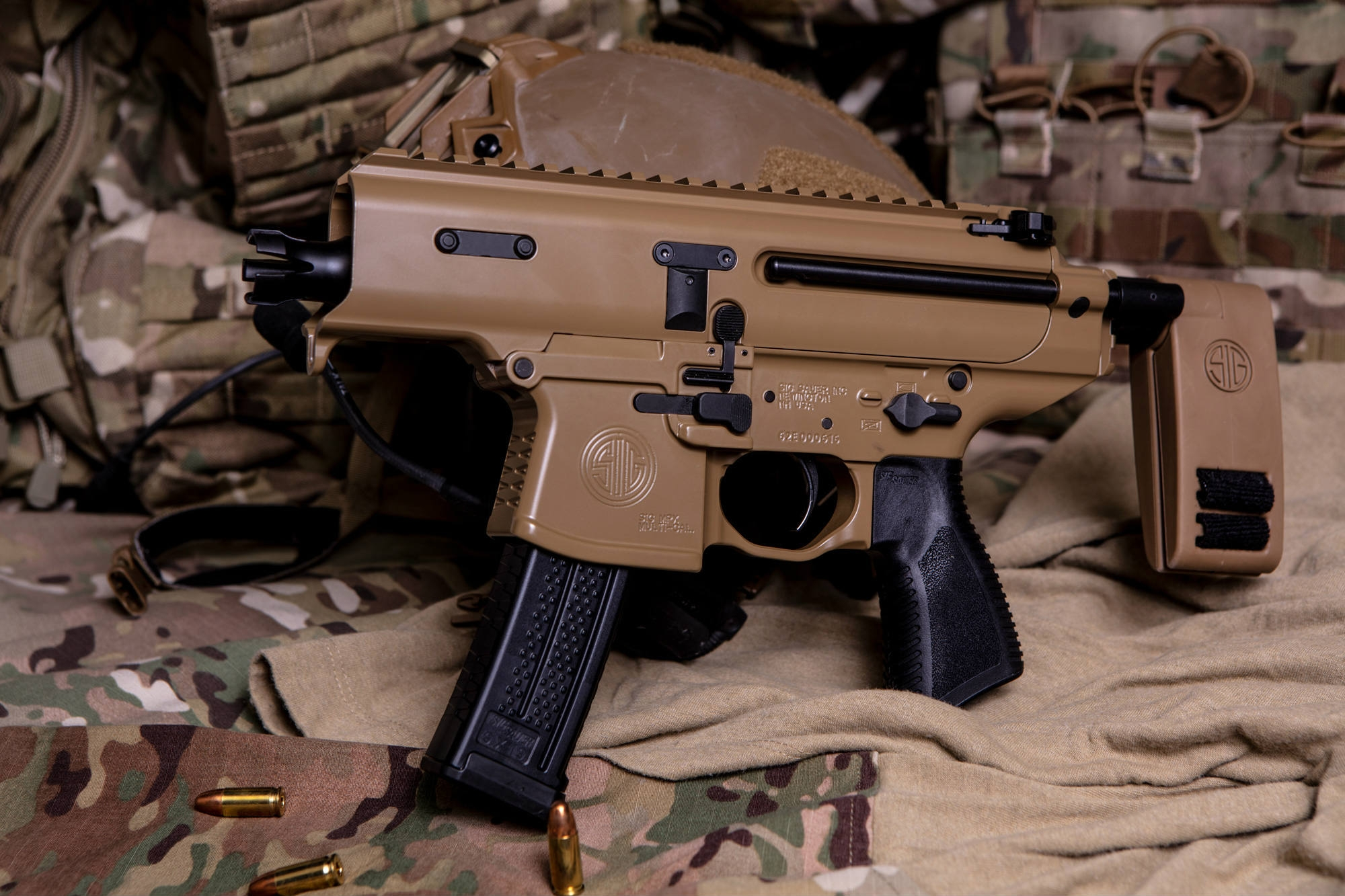 SIG Sauer MPX Copperhead is a 9mm ultra-compact SMG.