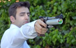 Tesro Pro pistol with 300 bar air cylinder: shooting test