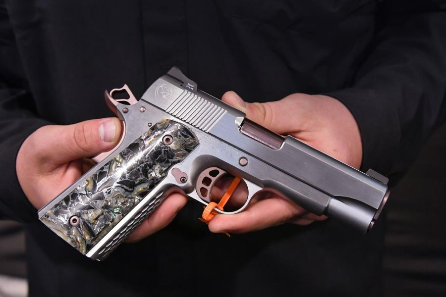 Nighthawk Custom Lady Hawk 2.0 Pistol can be customized in almost any part