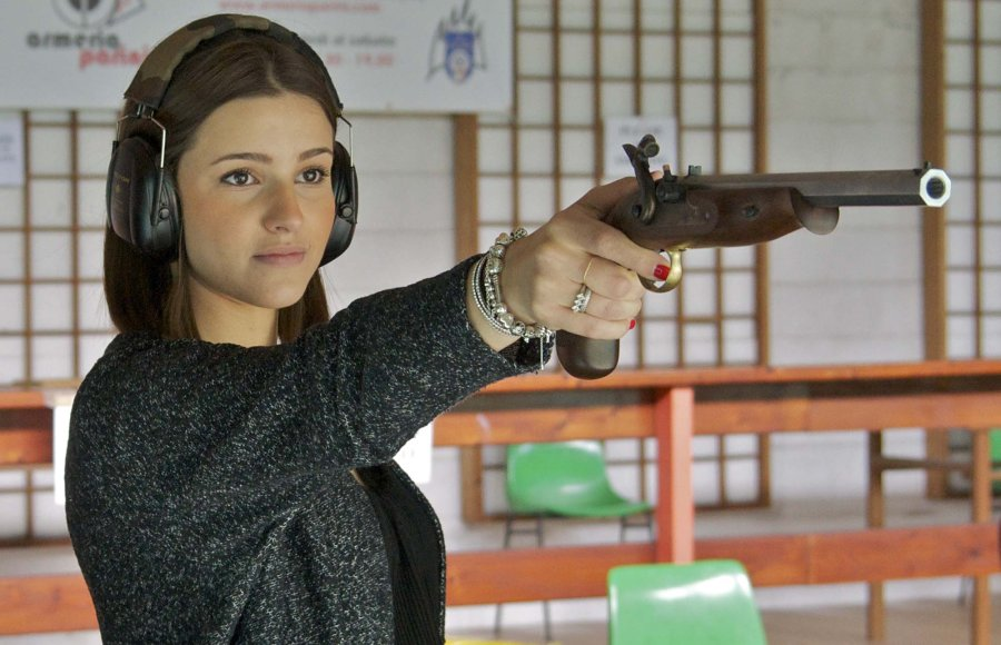 Pedersoli Continental Target shooting