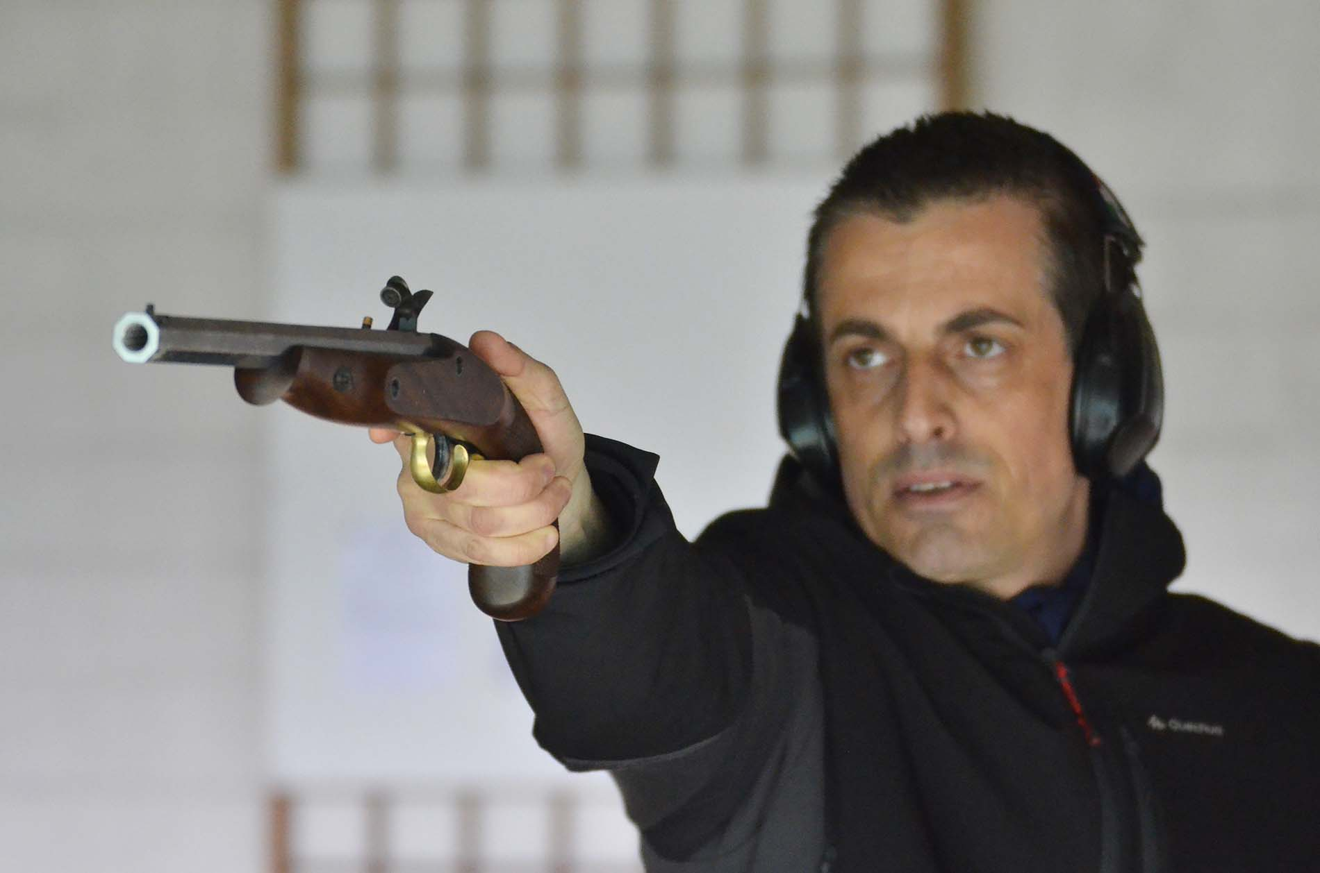 Pedersoli Continental Target shooting test.