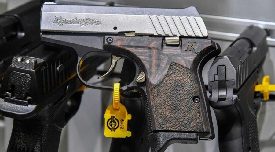 Subcompact pistol RM380 Executive from Remington.