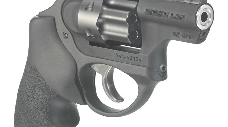 "Ruger LCRx .22 WMR model with 1,87"" barrel"