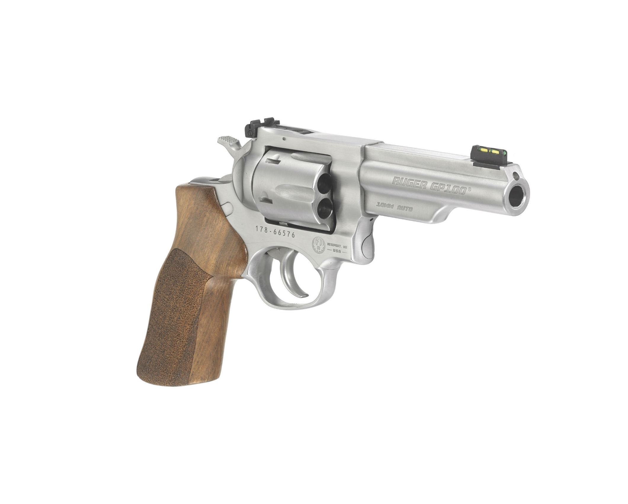 The new 10mm Auto version of the GP100 Match Champion revolver.