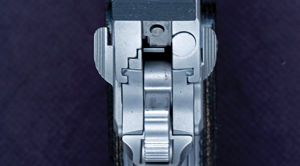 Micrometer sights of the SIG Sauer 1911 Traditional Match Elite