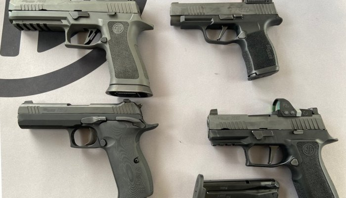sig-sauer: SIG Sauer, a full range of hot firearms for 2020
