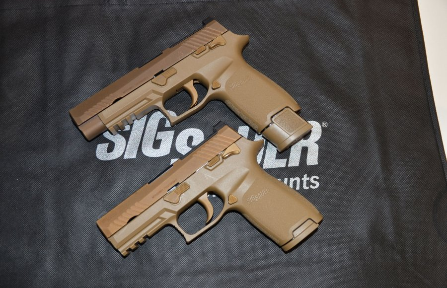 SIG Sauer M17 and M18 pistols