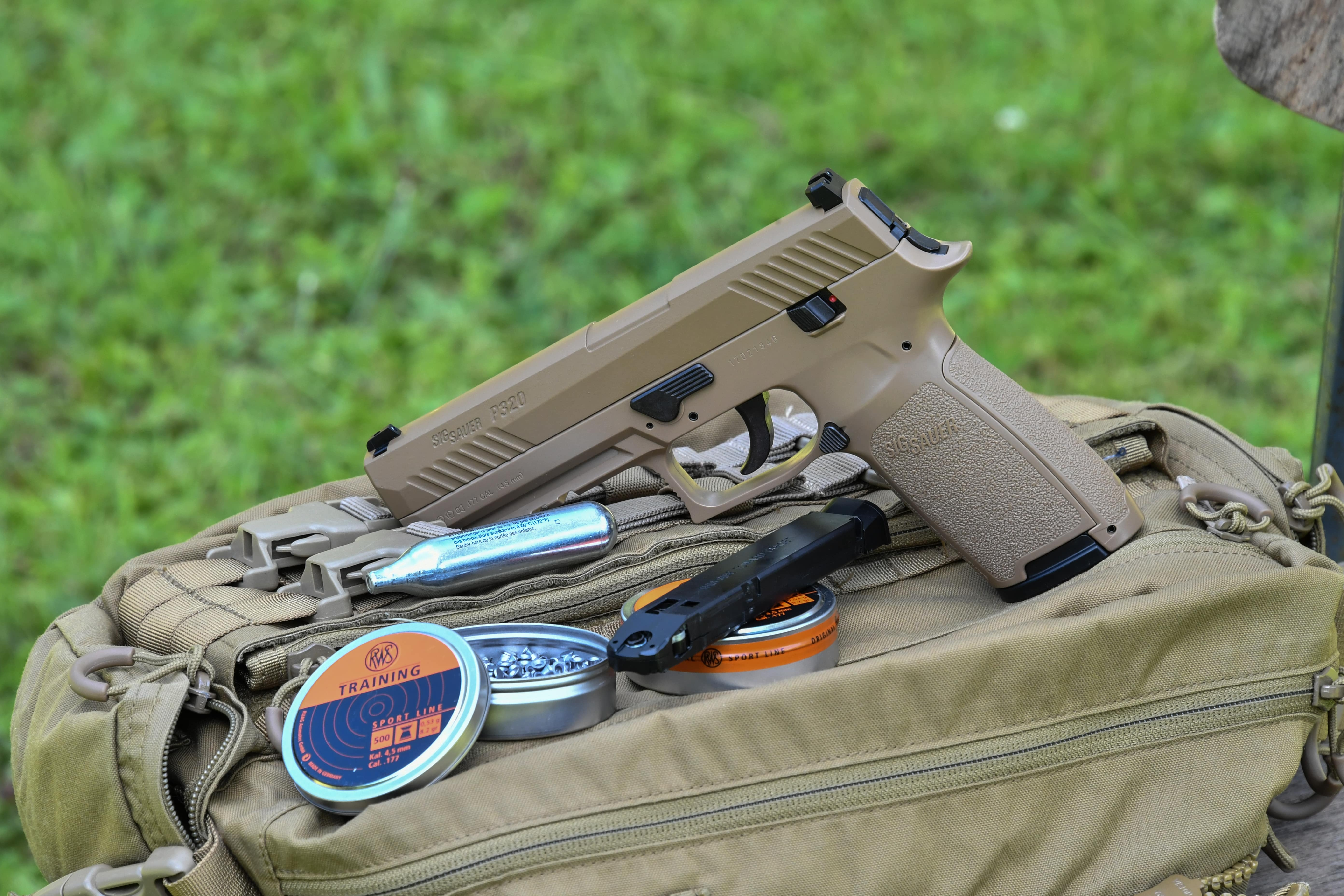 sig-sauer: SIG Sauer P320 ASP from GSG: how the air gun performed at the range