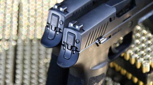 Sights on the SIG Sauer P320