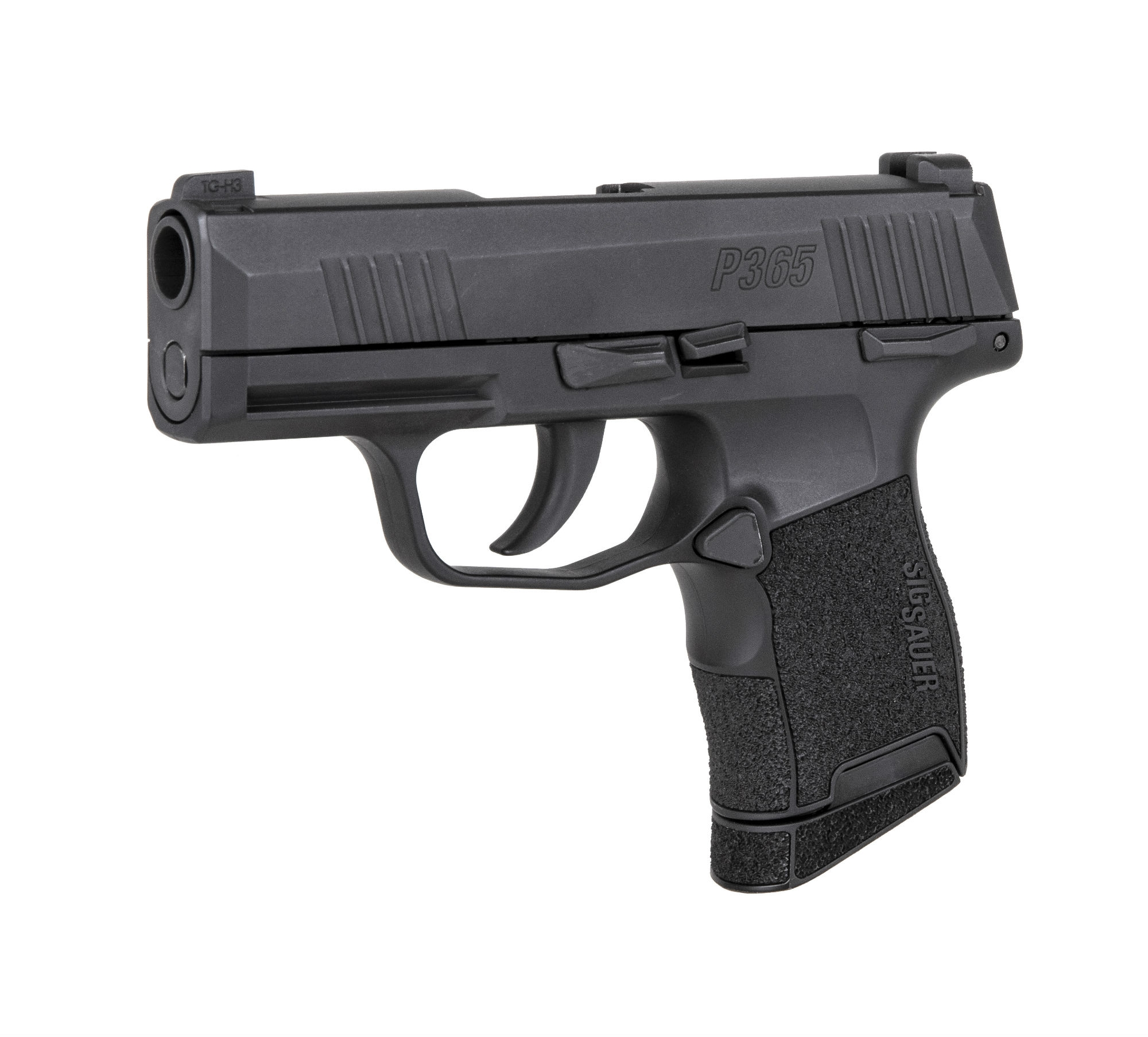 SIG Sauer P365 BB air pistol, left side view