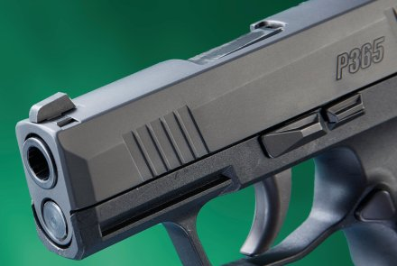 The front of the SIG Sauer P365