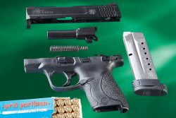 Smith & Wesson M&P Shield disassembled