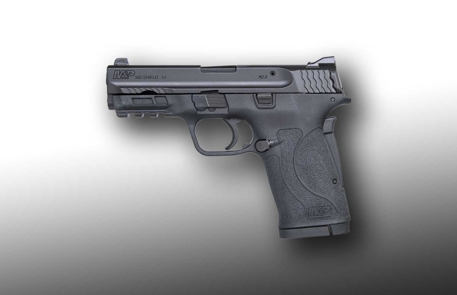 The new M&P 380 SHIELD EZ is chambered in .380 Auto.