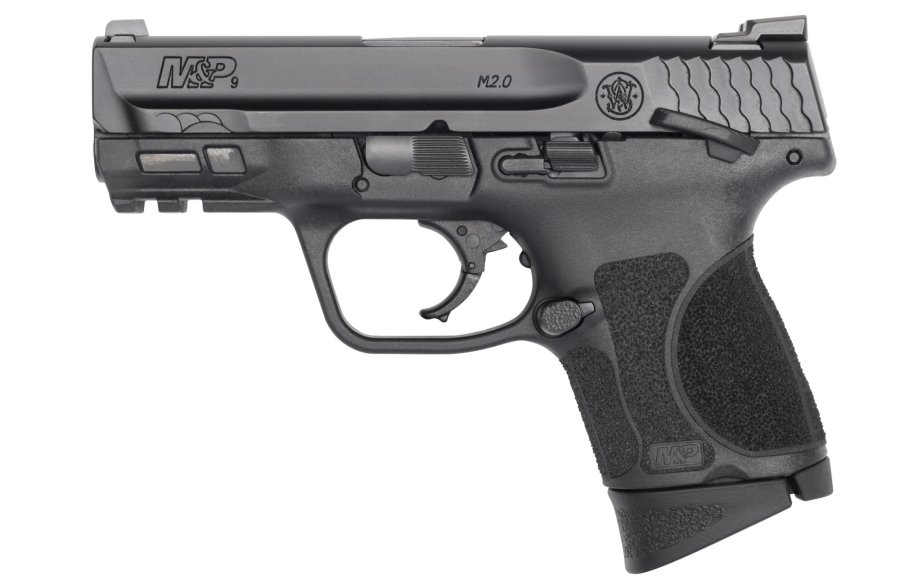 The new M&P M2.0 Subcompact pistol left side view