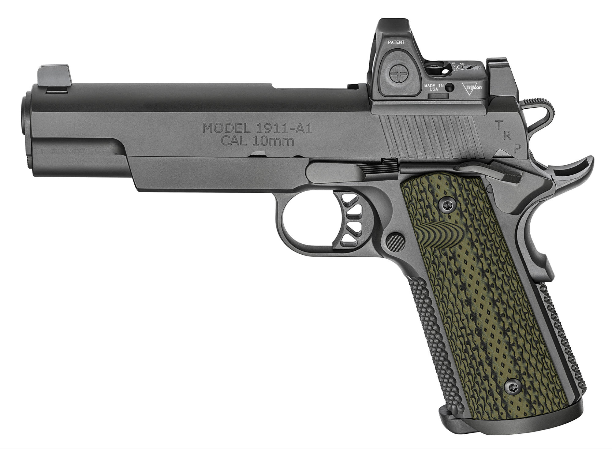 Springfield Armory 1911 TRP 10mm RMR pistol, left side