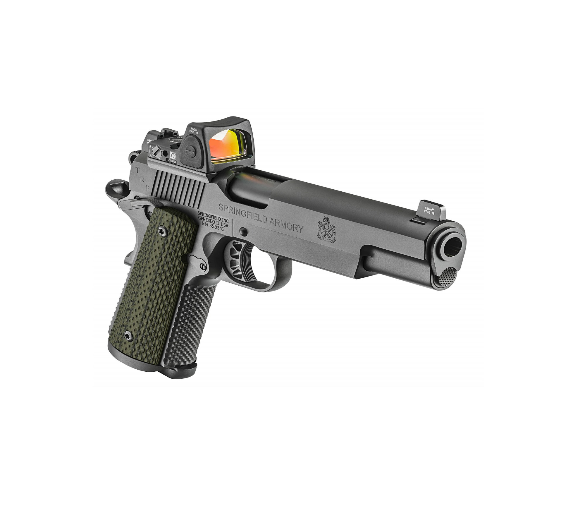 The new Springfield Armory 1911 TRP 10mm RMR.