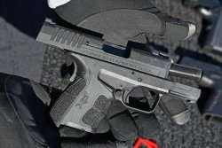 Subcompact pistol XD-S Mod.2 by Springfield Armory at the SHOT Show 2018.