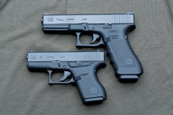 Glock G43 in 9 mm Luger