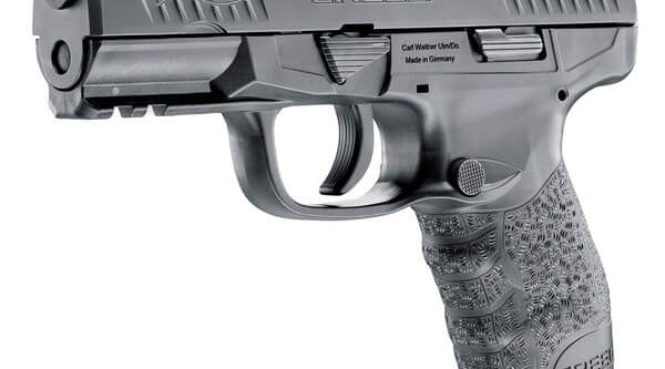 Side view of the WALTHER CREED