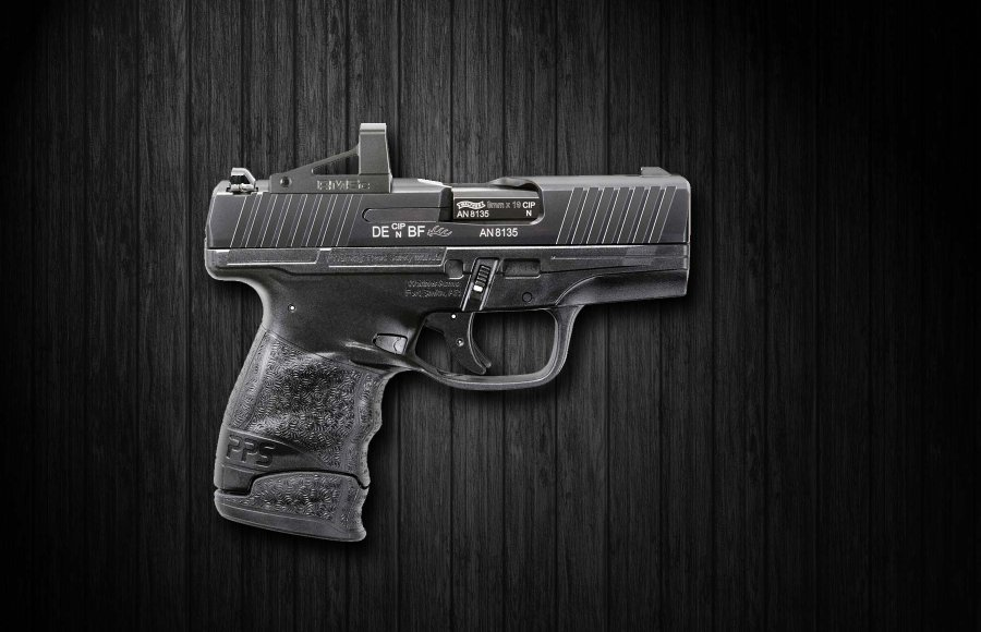 The new Walther PPS M2 RMSc 9 mm pistol