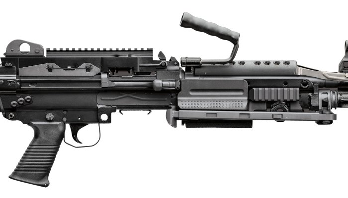 fnh: FN unveils a prototype MK 48 machine gun in 6.5 Creedmoor