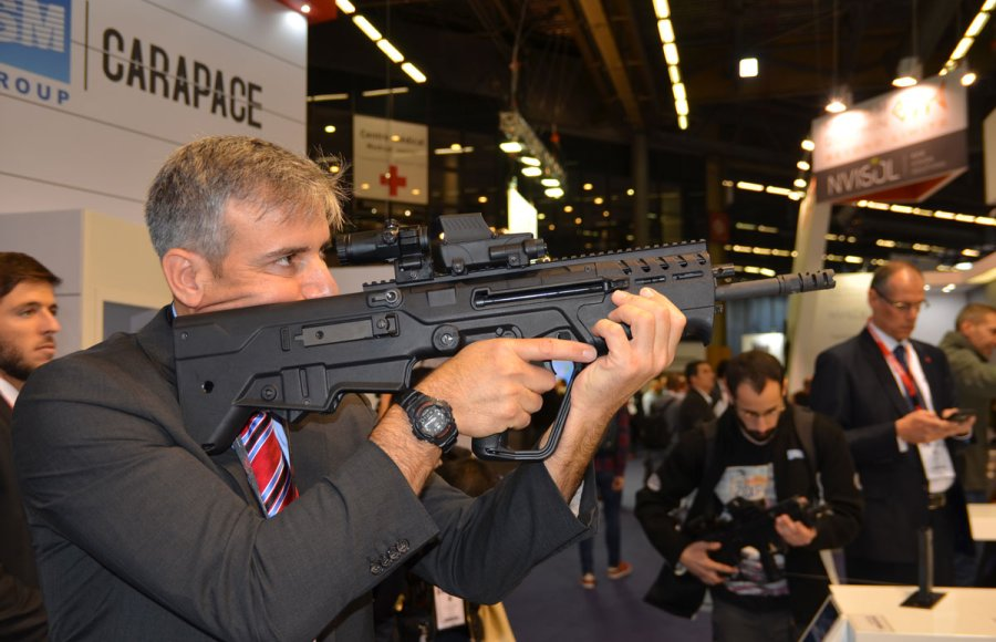 IWI Tavor 7 assault rifle