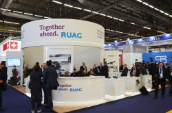 RUAG Stand at the MILIPOL 2017