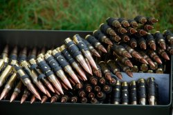 Military ammunition in 7.62x51mm NATO caliber