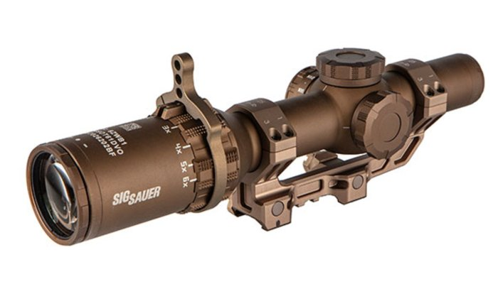 sig-sauer: SIG Sauer TANGO6T riflescope selected by US Department of Defense – Once again