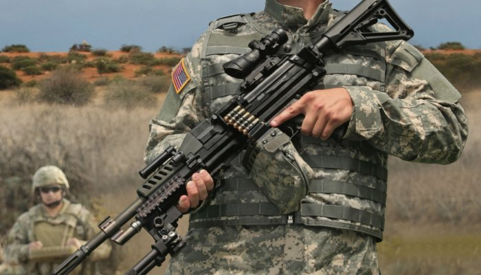 "pro-zone: A ""prototype demonstrator"" for the US Army Next Generation Squad Weapon"