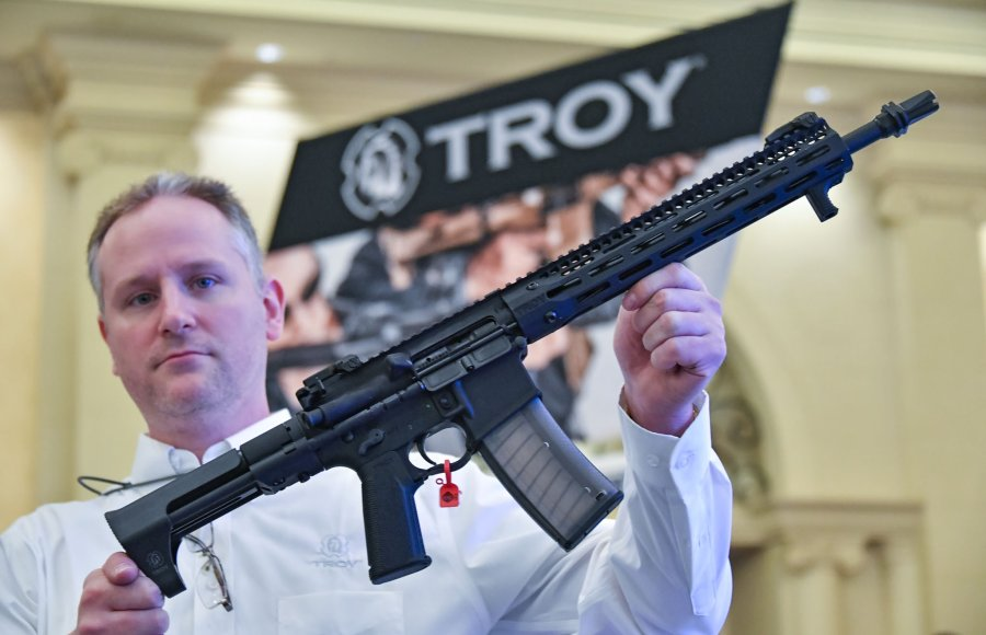 TROY SOCC Carbine rifle for military