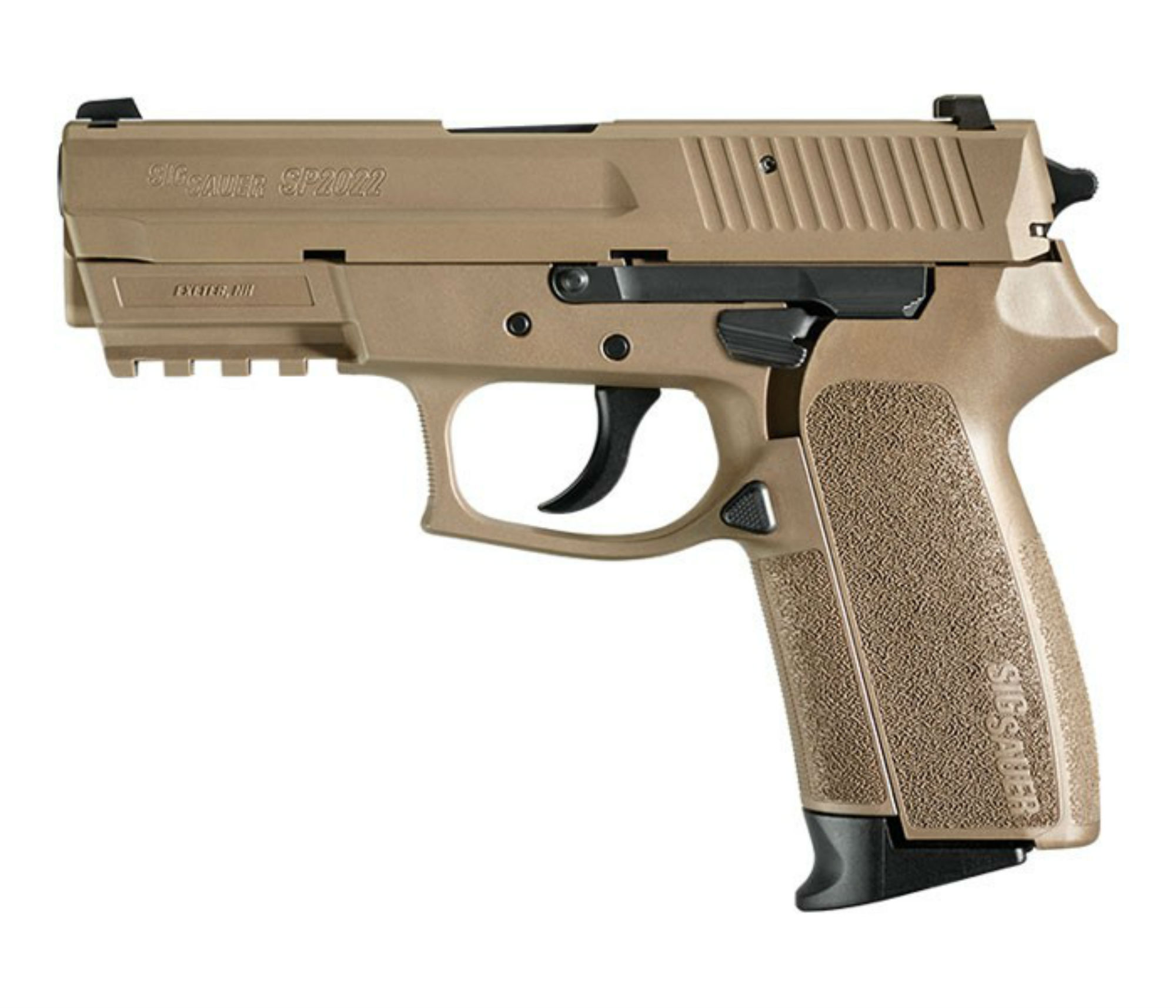 SIG Sauer SP2022 is a polymer frame, full-size pistol.