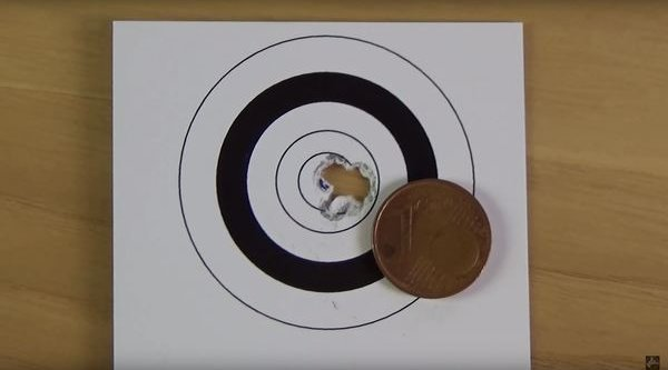result of the airgun DIANA 56 Target Hunter in the shooting test